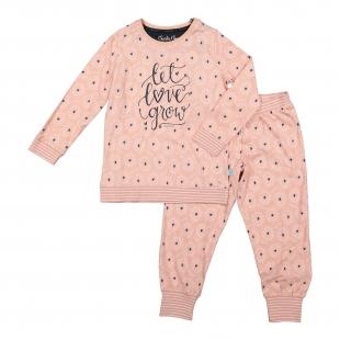 Charlie Choe tüdrukute pidžaama 41Z-28905, Vanaroosa